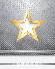 grunge star layout