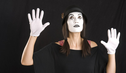 Mime Looks Up