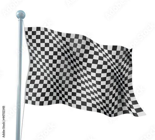 Detail Finish Flag