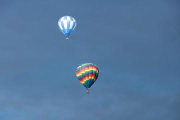 Balloons, Heißluftballon, Montgolfière, Château d'oex