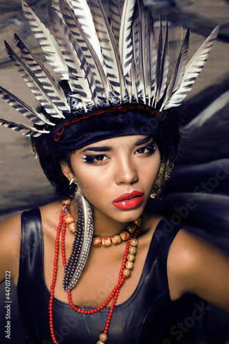 make up like red indian