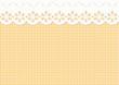 Feston/Verzierung auf Karo Muster - endlos