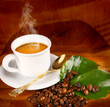 Fototapeta Kawa - Pachnący - Kawa / Herbata / Czekolada