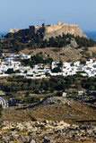 View of Lindos City