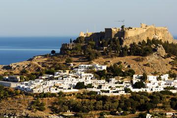 View of Lindos City