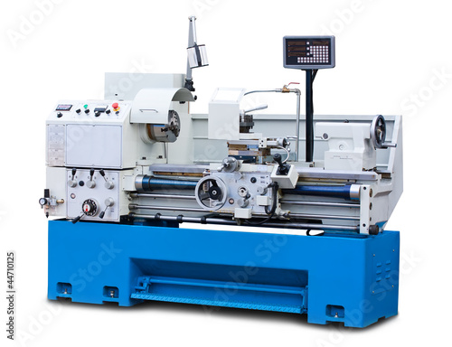 Lathe turning machine