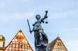lady justice in Frankfurt