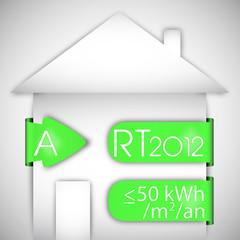 maison certifiée RT 2012