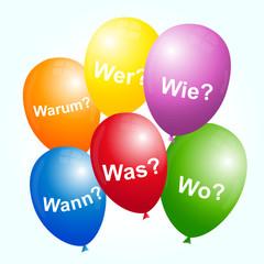 Sprechende Luftballons