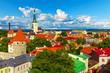 Panorama of Tallinn, Estonia