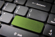 Green keyboard key