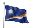 Marshall Islands Flag Detail Render