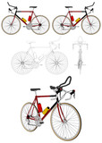 Bicycle Vector 05