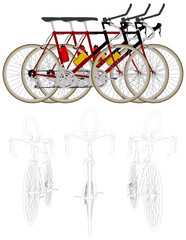 Bicycle Vector 04