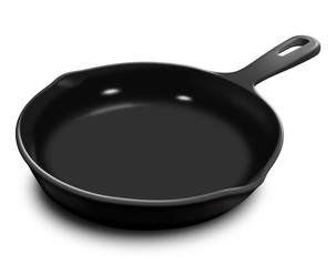 Illustrated Frying Pan