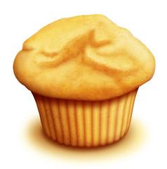 Illustrated Breakfast Muffin