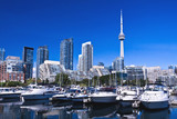 Fototapete Ontario - Blau - Passagierschiff