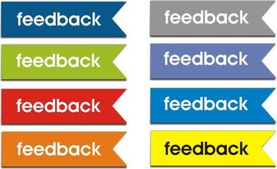 étiquettes feedback