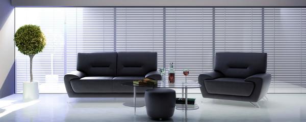 Inside a lounge