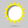 poster template. sun