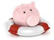 Sparschwein Rettungsring