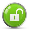 Glossy unlock icon