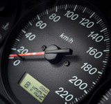 Speedometer and odometer