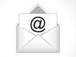 abstract email icon