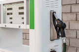 Detail of petrol pump