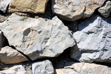 Parete di rocce al sole texture