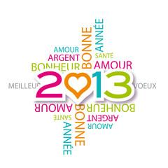voeux 2013, 2013, bonne année 2013
