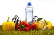 Healthy lifestyle concept, vitamins