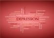 Depression  Suchwort Wolke Schlagwort