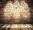 color brick wall