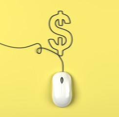 mouse and dollar