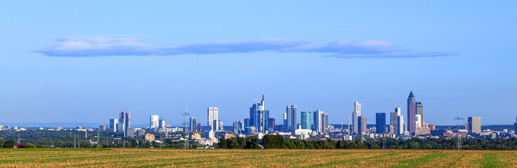 skyline of Frankfurt