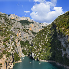 Cañon del rio Verdon (Provenza,Francia)