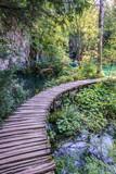 Ponte di legno Plitvice vertical