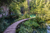 Ponte di legno Plitvice
