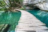 Schöne Momente auf der Holzbrücke