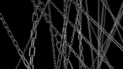 Chains Fly Through Loop one