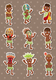 African stickers