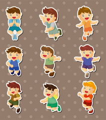 kid jump stickers