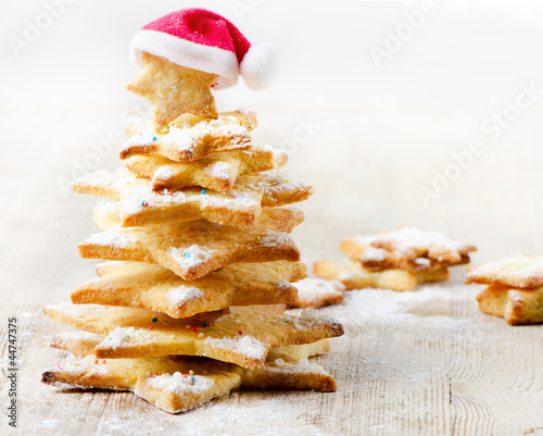 Decorated cookies -  Christmas tree