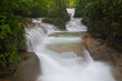 The beautiful Phasawan waterfall at Kanchanaburi , Thailand