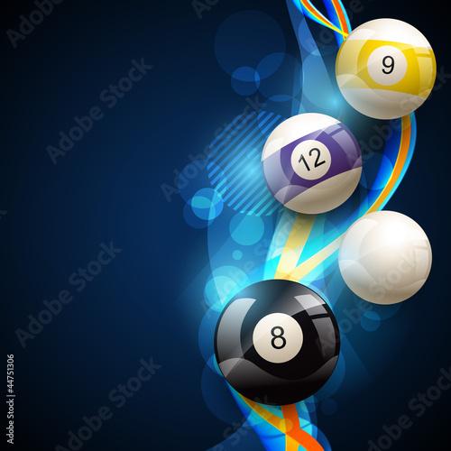 Fototapeta pool balls