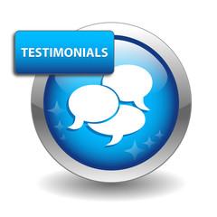 TESTIMONIALS Web Button (customer satisfaction experience)
