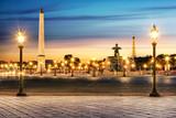Fototapeta Eiffel - obelisk - Widok Miejski