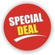 étiquette special deal
