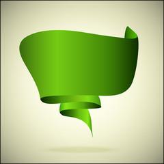 векторный зеленый фон для сообщений